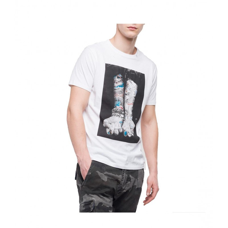 CAMISETA REPLAY TATTOO  - cp company