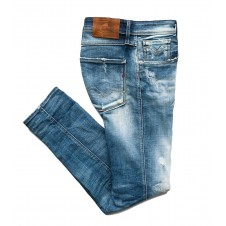 VAQUERO REPLAY SLIM AMBASS - blauer