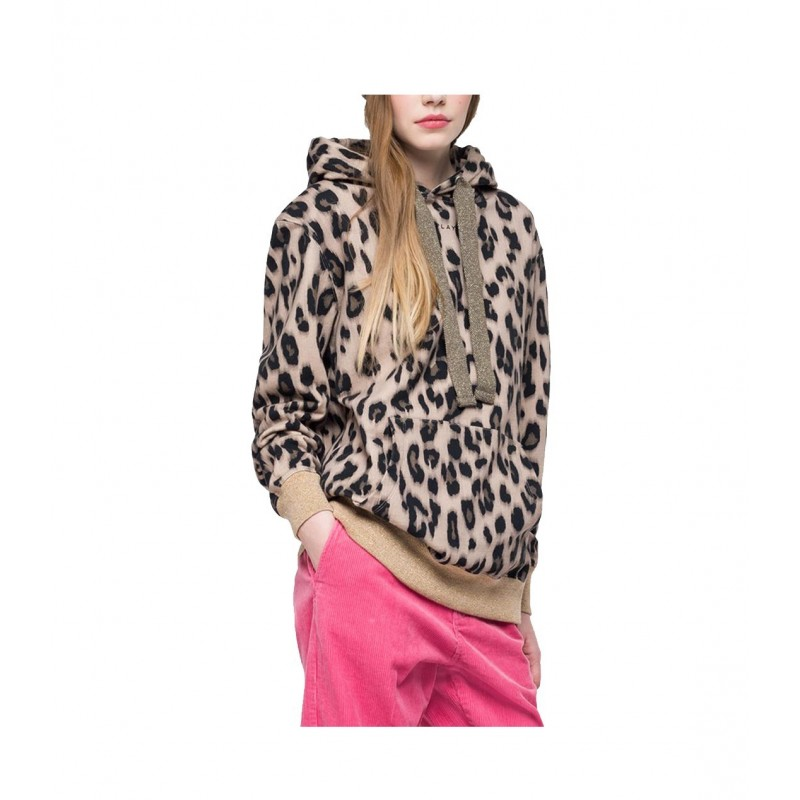 SUDADERA ANIMAL PRINT REPLAY - premiata liz