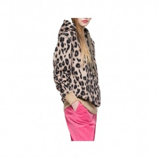 SUDADERA ANIMAL PRINT REPLAY - vaqueros replay