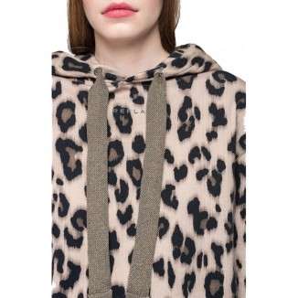 SUDADERA ANIMAL PRINT REPLAY - premiata madrid