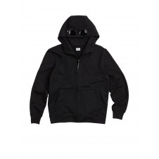 SUDADERA DIAGONAL FLEECE FULL-ZIP GOGGLE HOOD