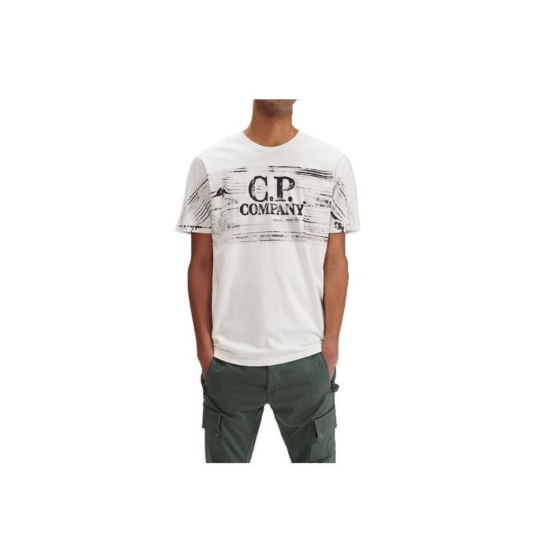 CAMISETA METROPOLIS CHEST LOGO CP COMPANY  - replay hyperflex