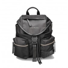 Mochila Backpack Premiata de color negro -